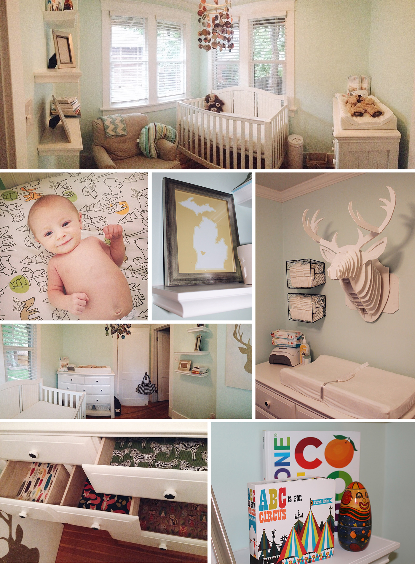 Baby Boy Woodland Nursery