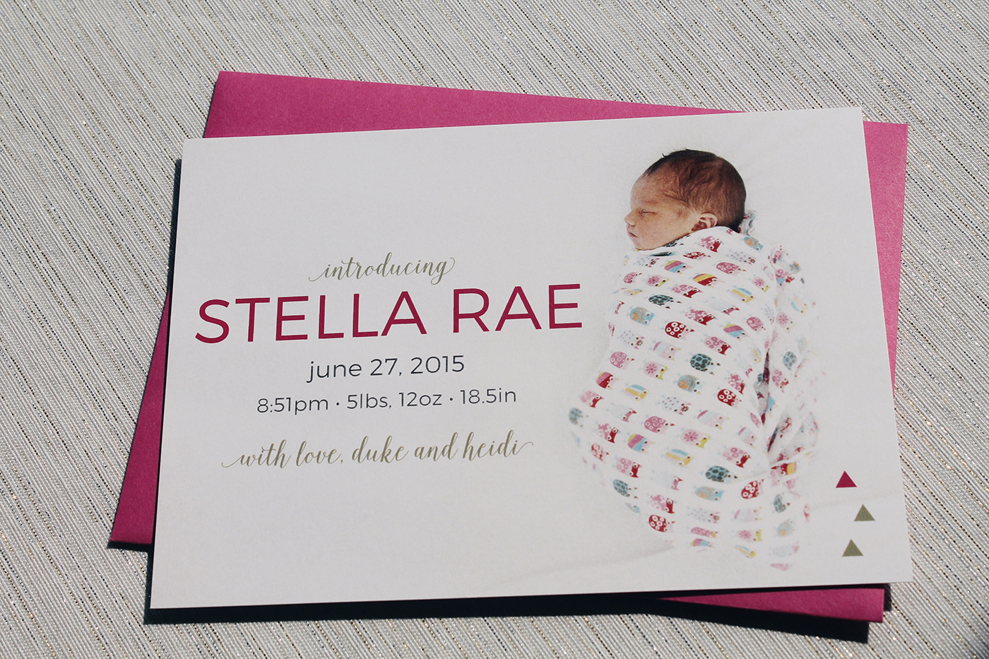 Birth Announcements - Kailey Marie Designs