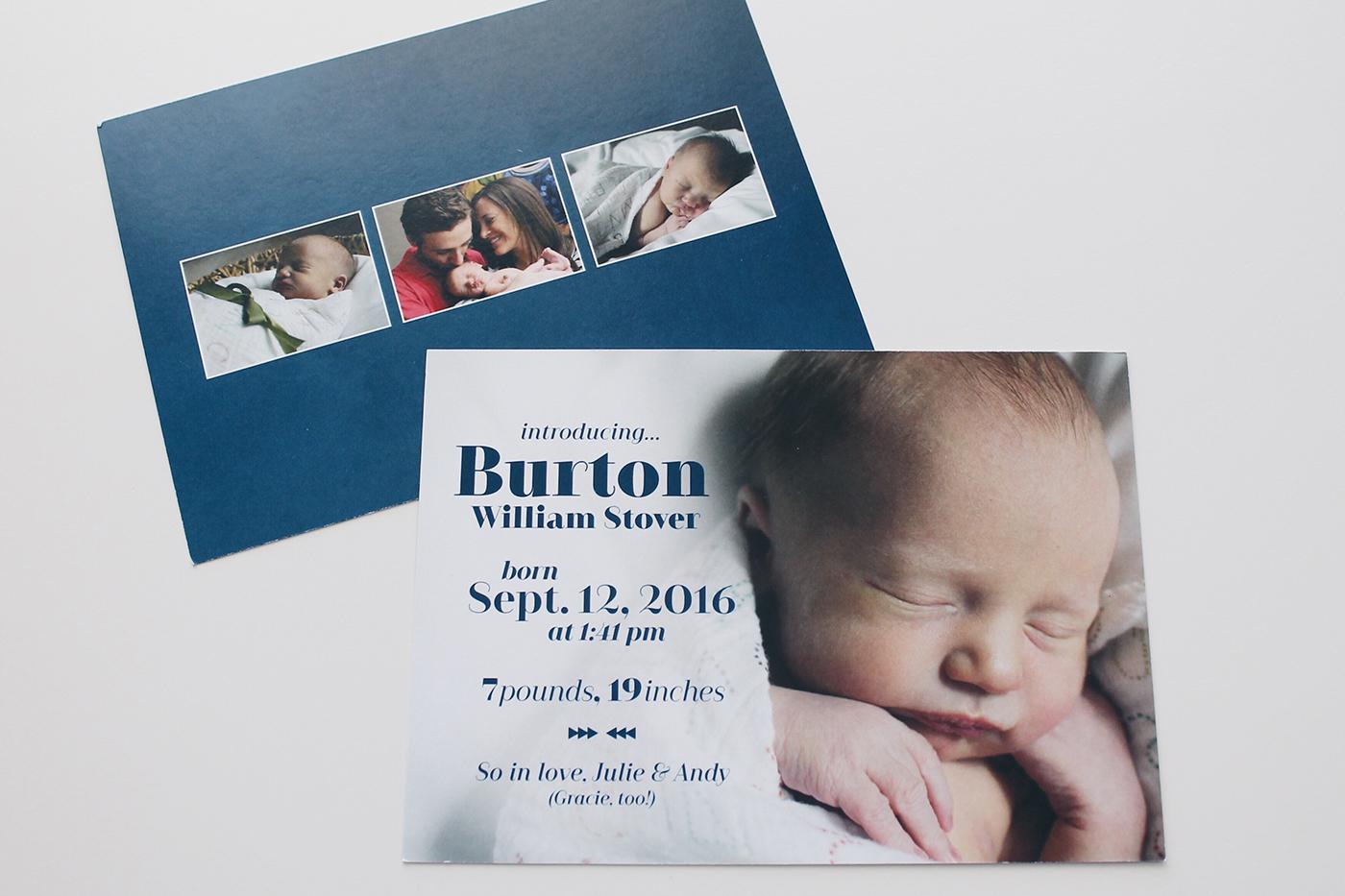 Birth Announcements - Kailey Marie Designs