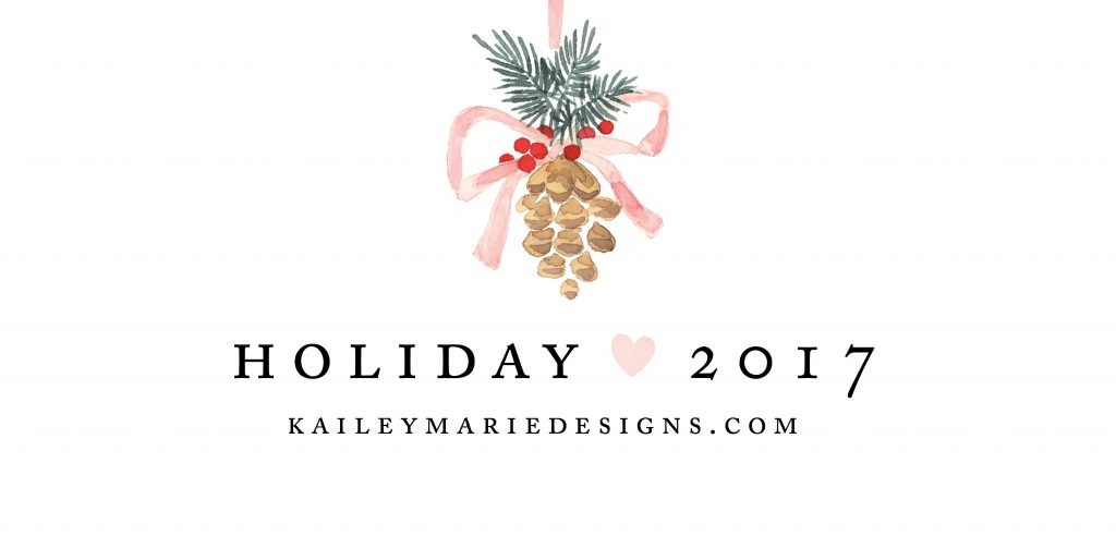HOLIDAY CARDS - KAILEY MARIE DESIGNS