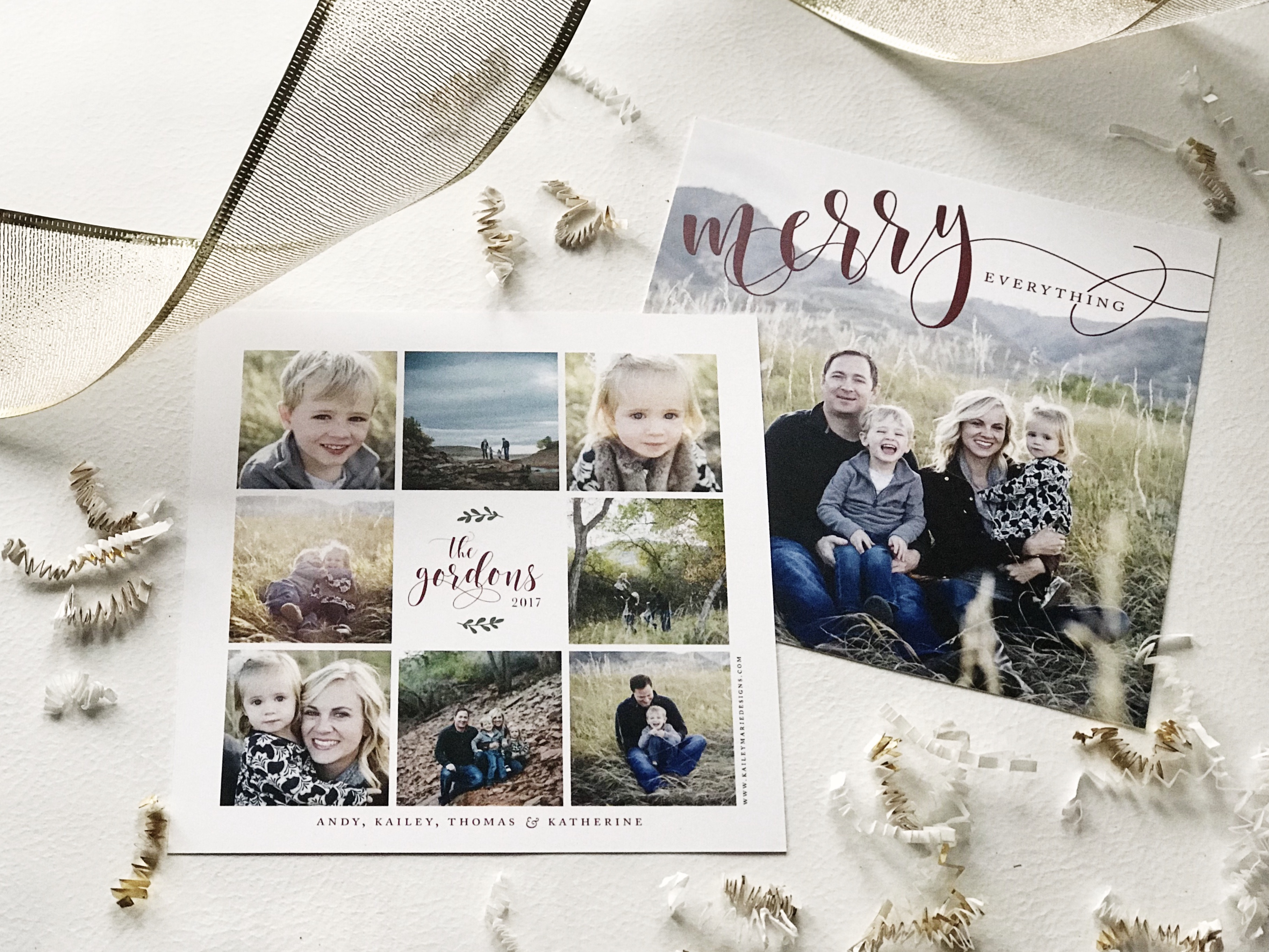 CHRISTMAS CARD TRADITION - KAILEY MARIE DESIGNS -MOTHERHOOD BLOG -1