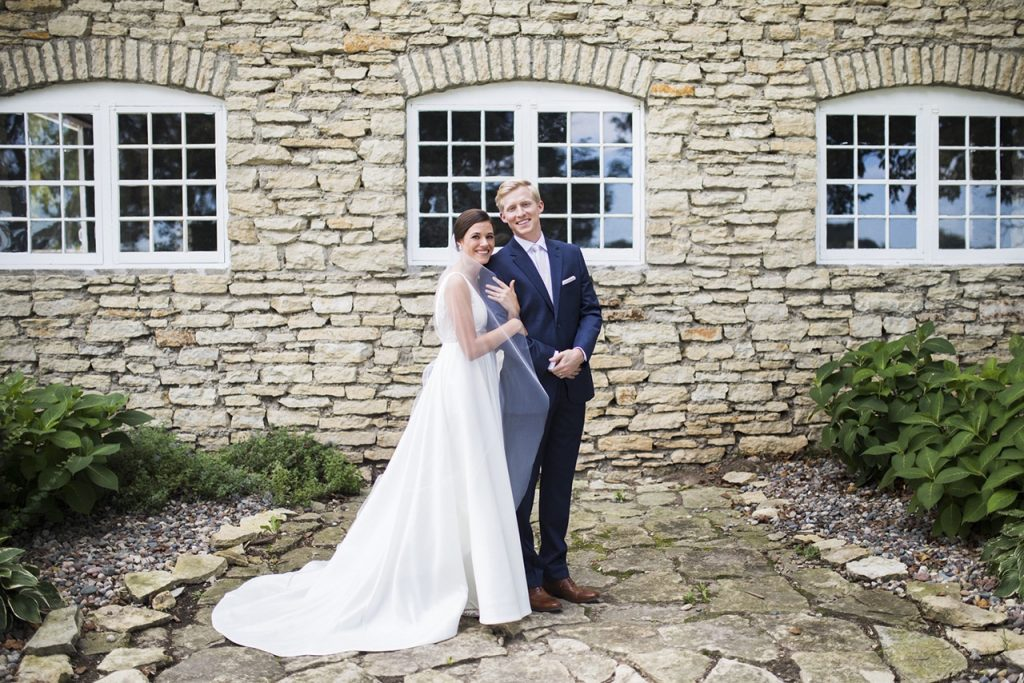 Annie + Nathan's Stone Barn Wedding