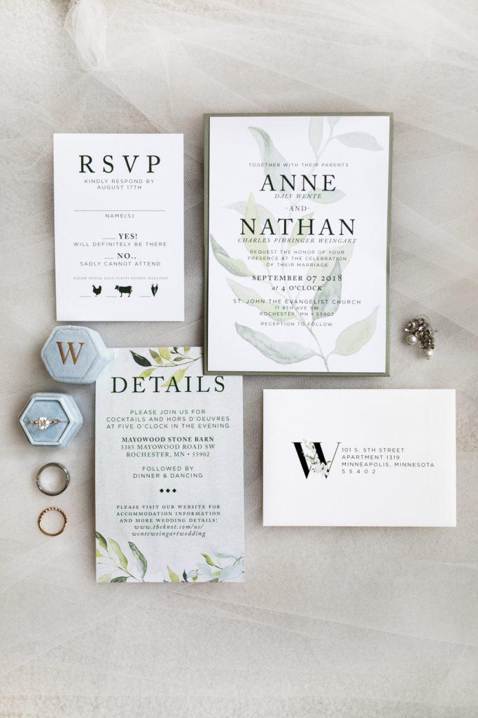 Annie + Nathan's Stone Barn Wedding